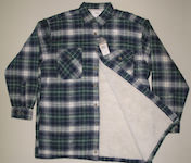Lumberjack Jacket with warm Sherpa-Lining, plaid
