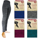 Thermo leggings gentle melange colours