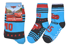 Boys thermo socks full terry with ABS and nice Disnay Cars Motives